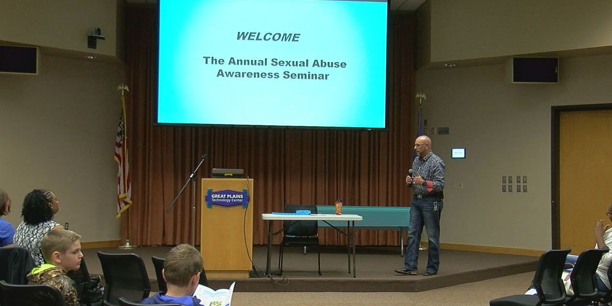 Lawton groups holds seminar for sexual abuse