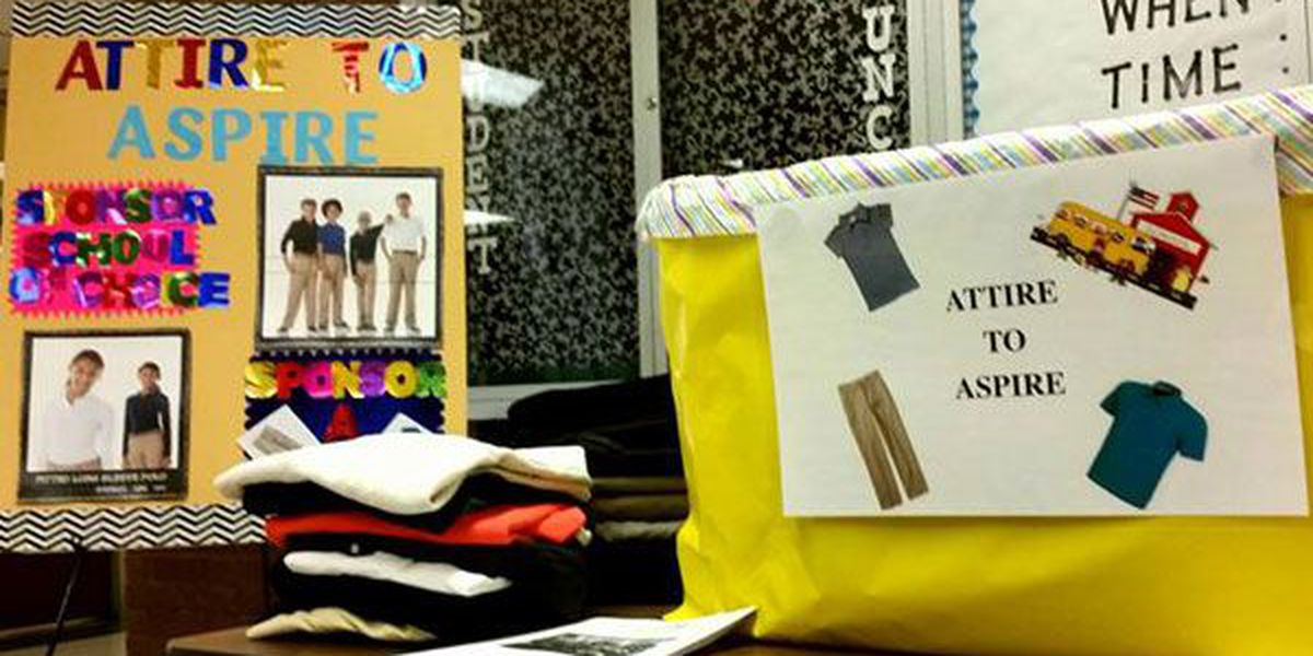 Attire to Aspire hopes for record donations