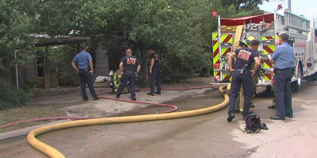 Lawton Fire responds to structure fire on southwest side