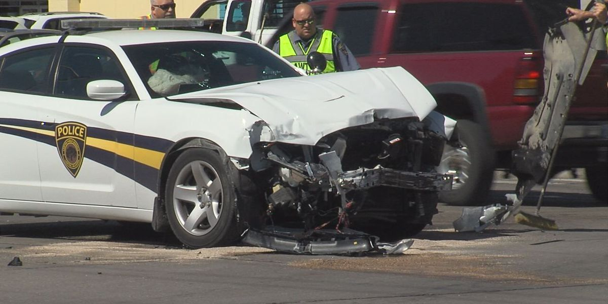 LPS police officer involved in collision