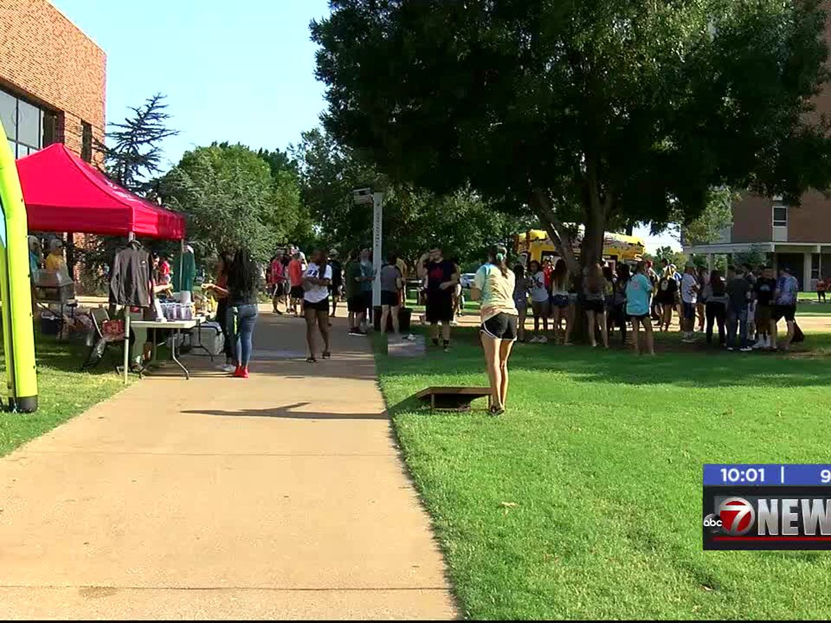 Cameron kicks off semester with Back to School Block Party