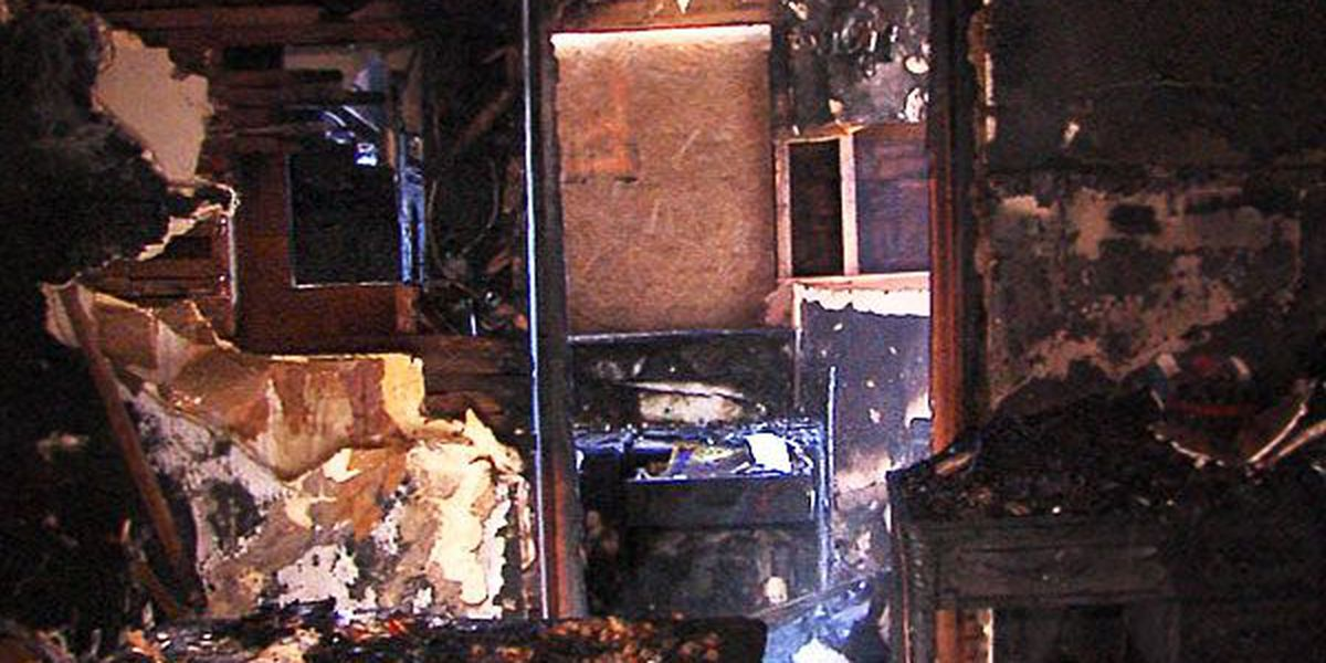 Family displaced after space heater ignites house fire