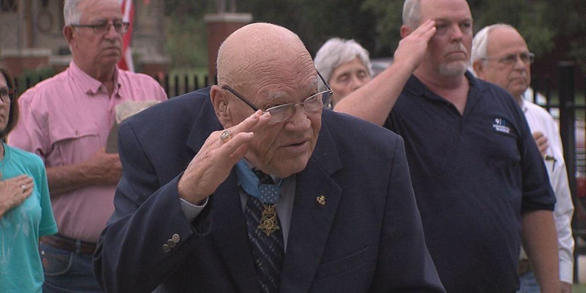 Waurika honors Medal of Honor recipient