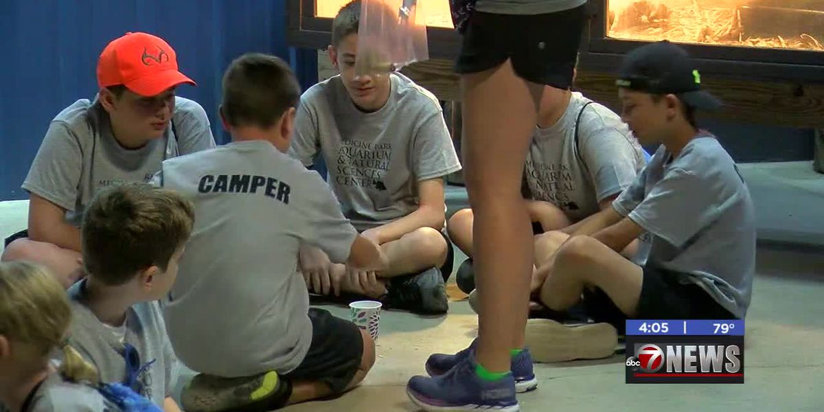 Campers experience science-based learning at summer camp