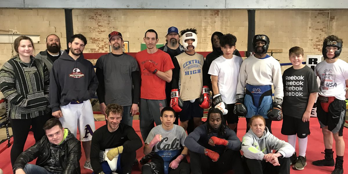 Duncan gym holds first ever Spar Day