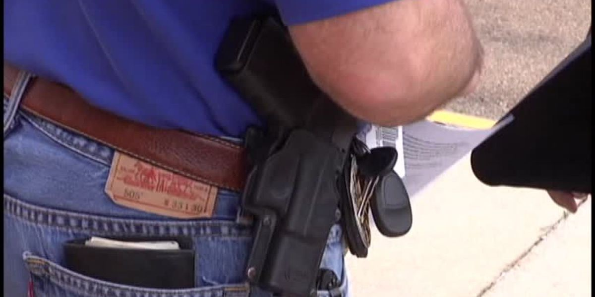 Advocates rally for the start of Oklahoma permitless gun law