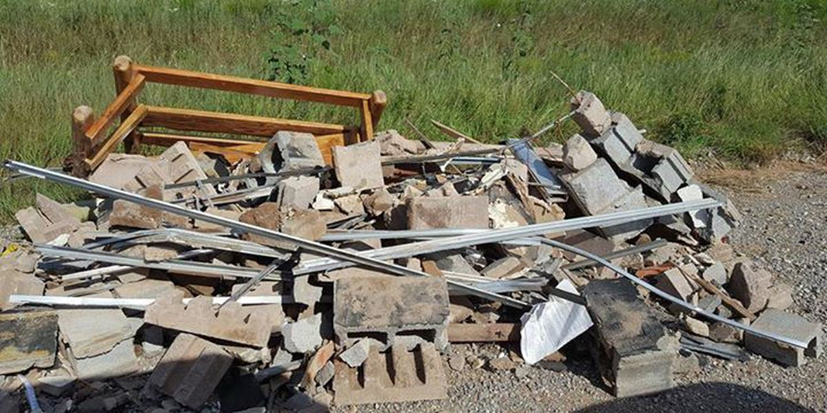 Illegal dumping pictures help in trailer theft investigation