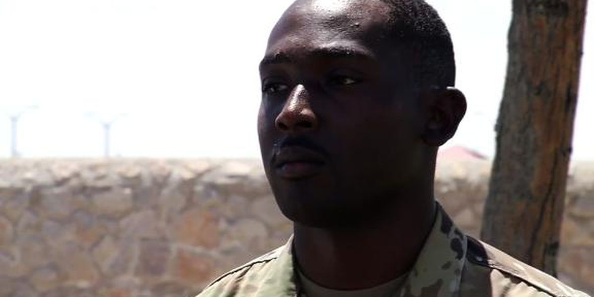 Hero soldier in El Paso shooting says focus should be on those who died, not him