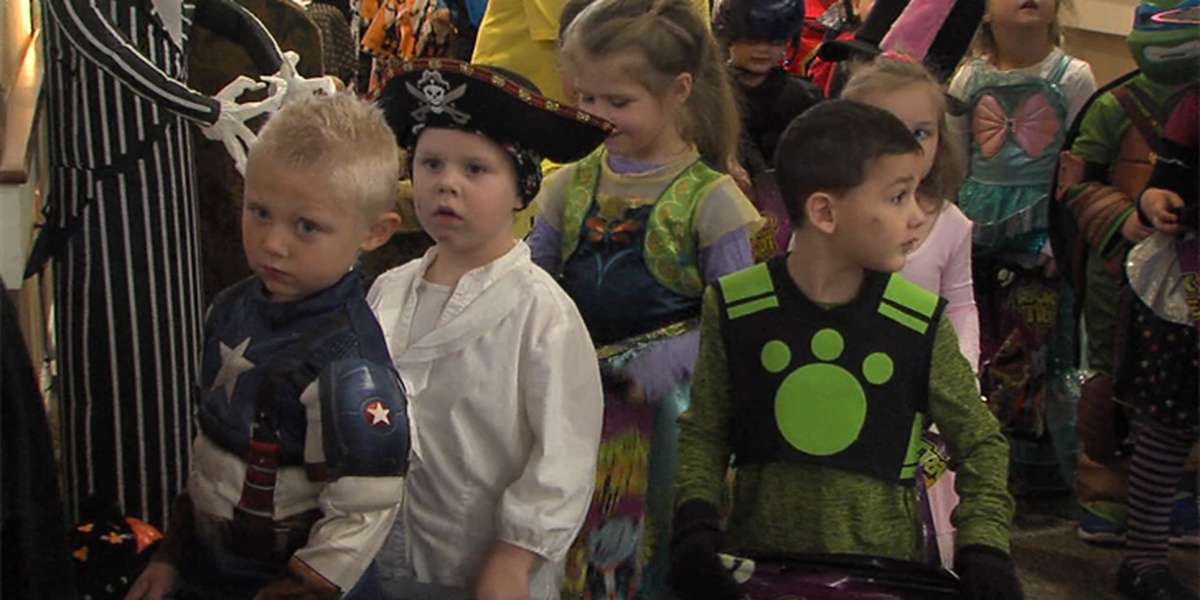 Generations come together for Halloween in Marlow