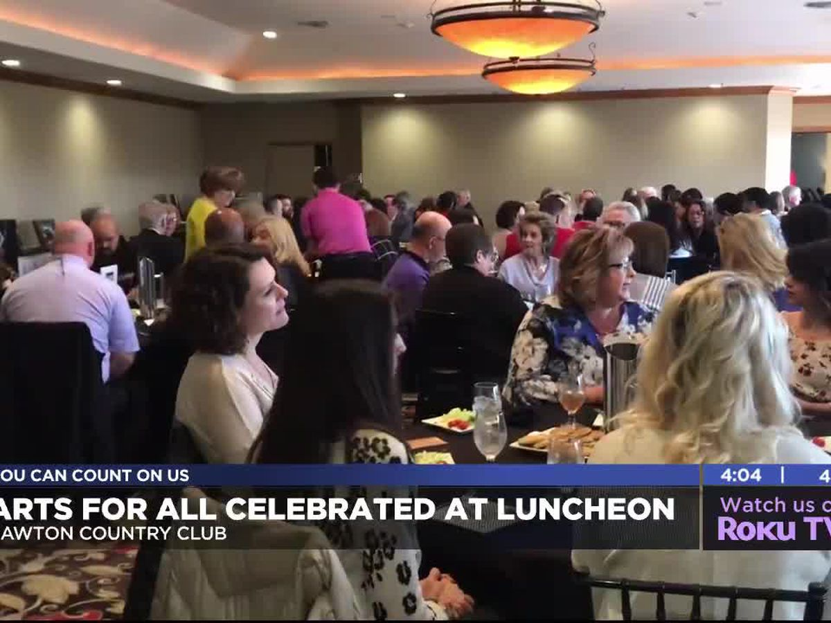 Arts For All kickoff luncheon held in Lawton