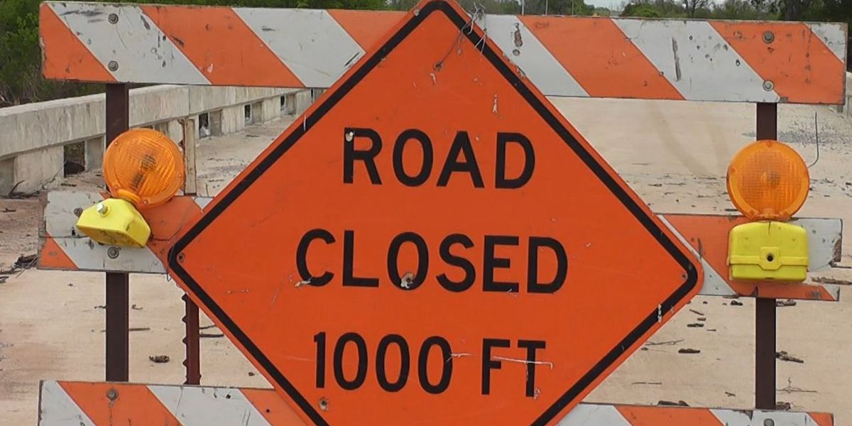 Comanche County roads still closed after flooding