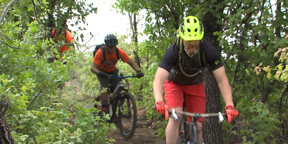 Mountain bike riders hit the trails for festival