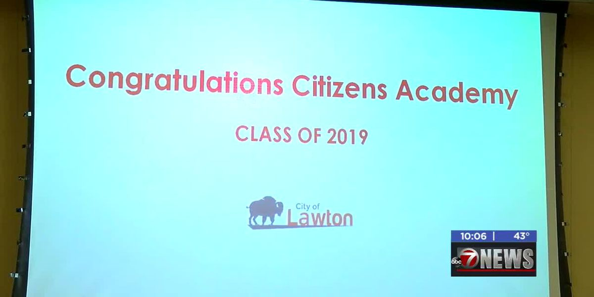 City of Lawton holds graduation for Citizens Academy