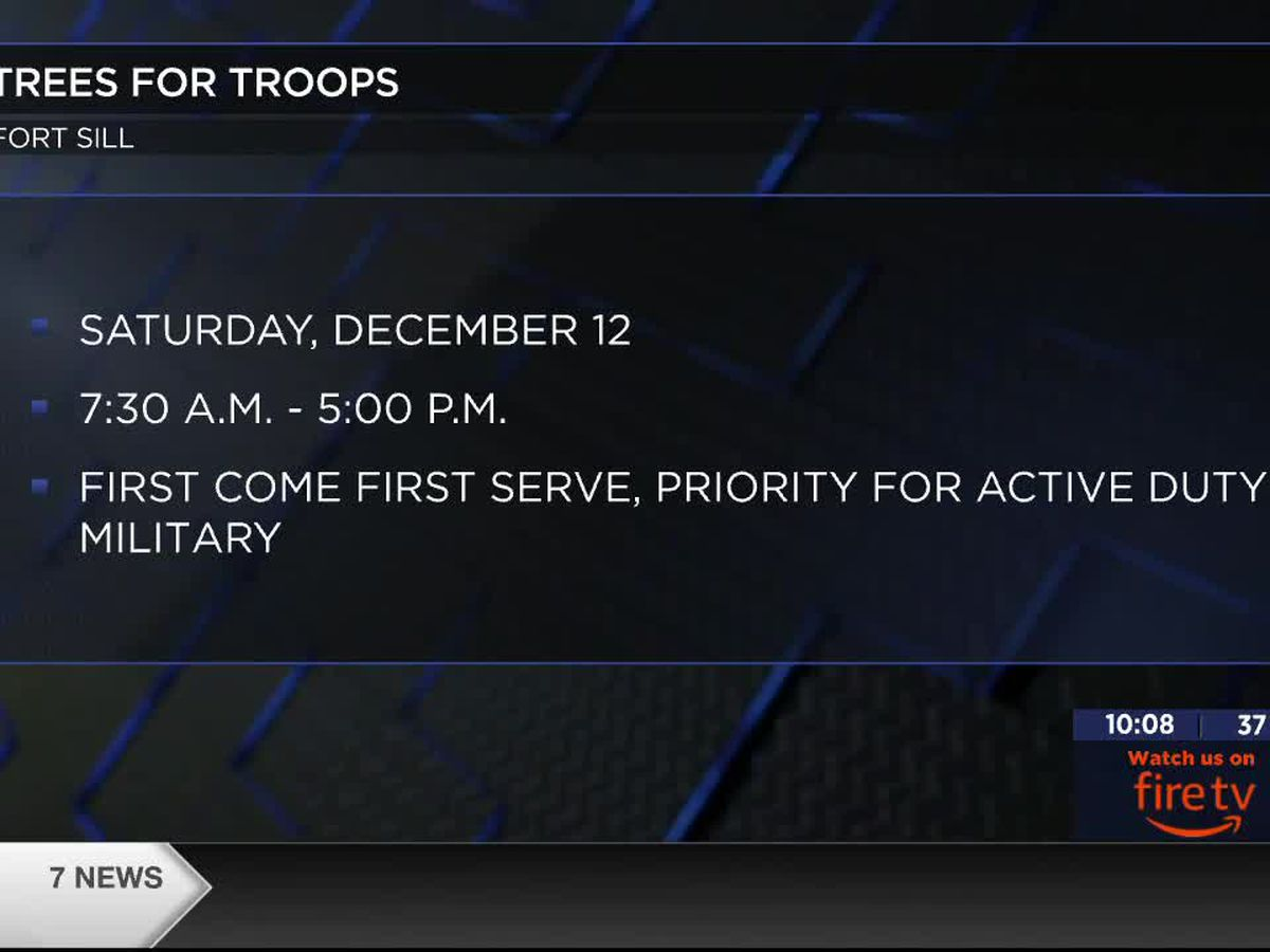 Trees for Troops spread Christmas cheer at Ft. Sill