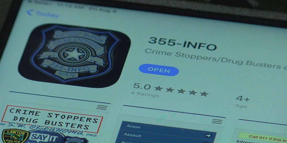 Crime Stoppers of Southwest Oklahoma launches app