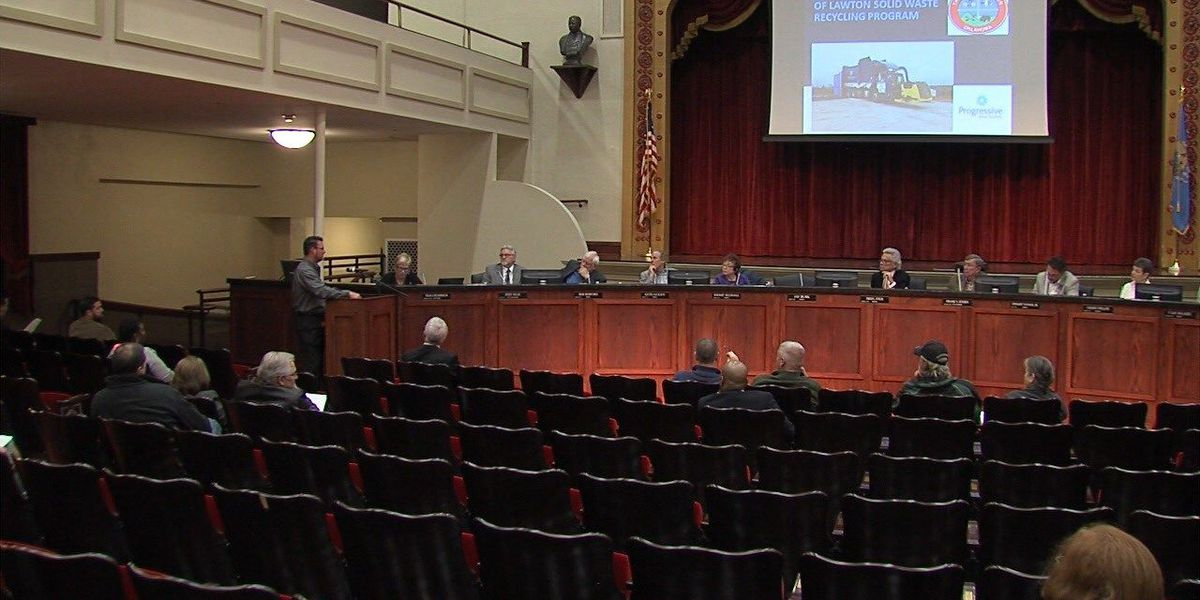 Lawton City Council approves optional curbside recycling