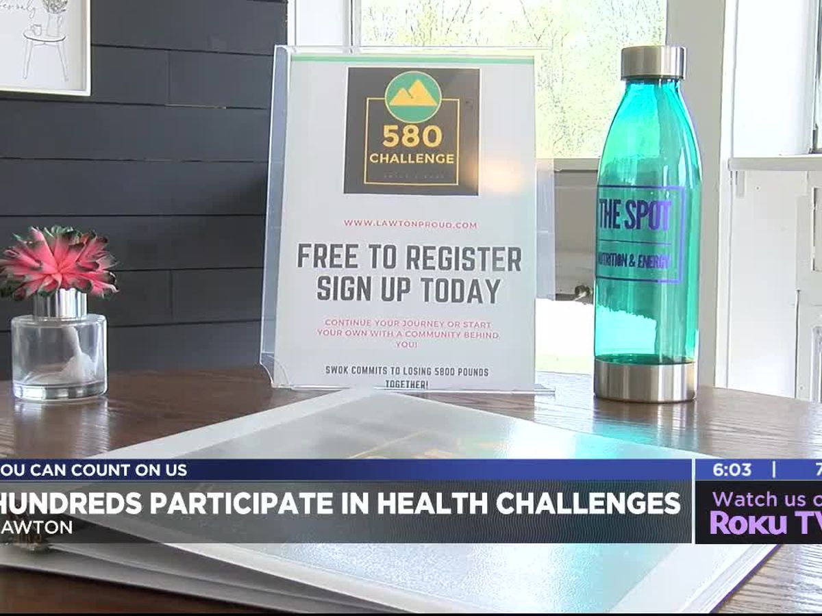 Hundreds participate in Lawton health challenges