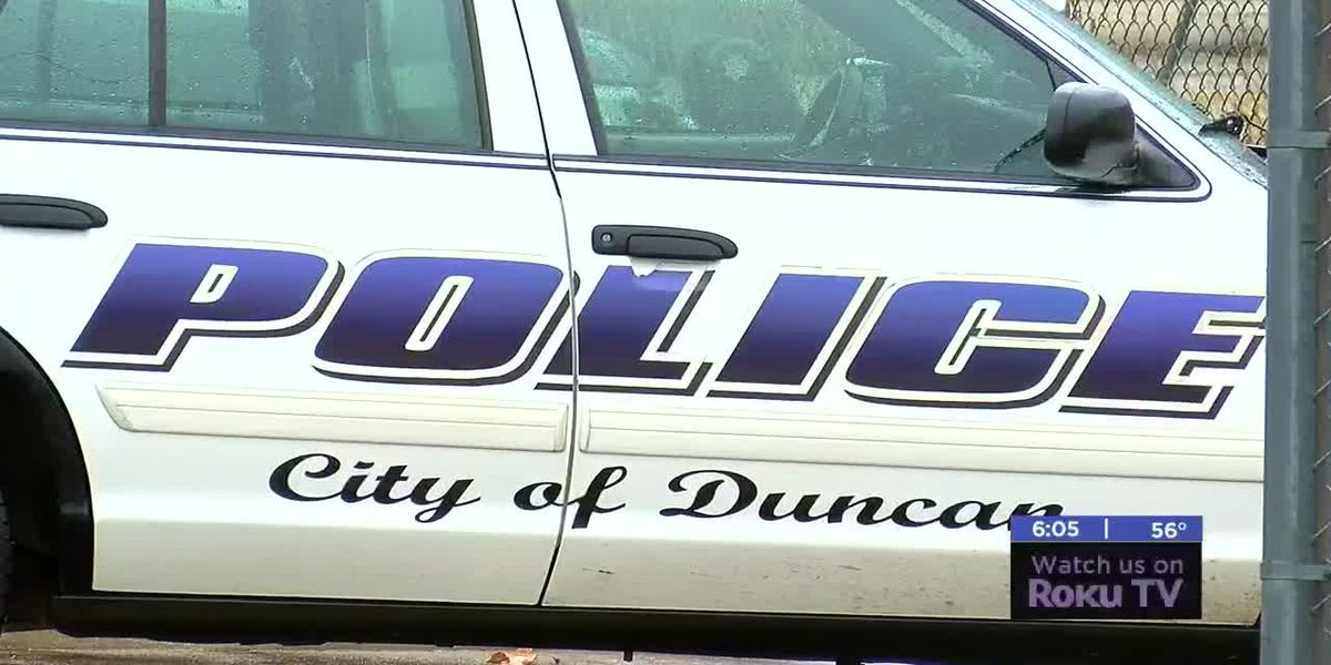 Duncan man arrested after allegedly choking wife, shooting gun