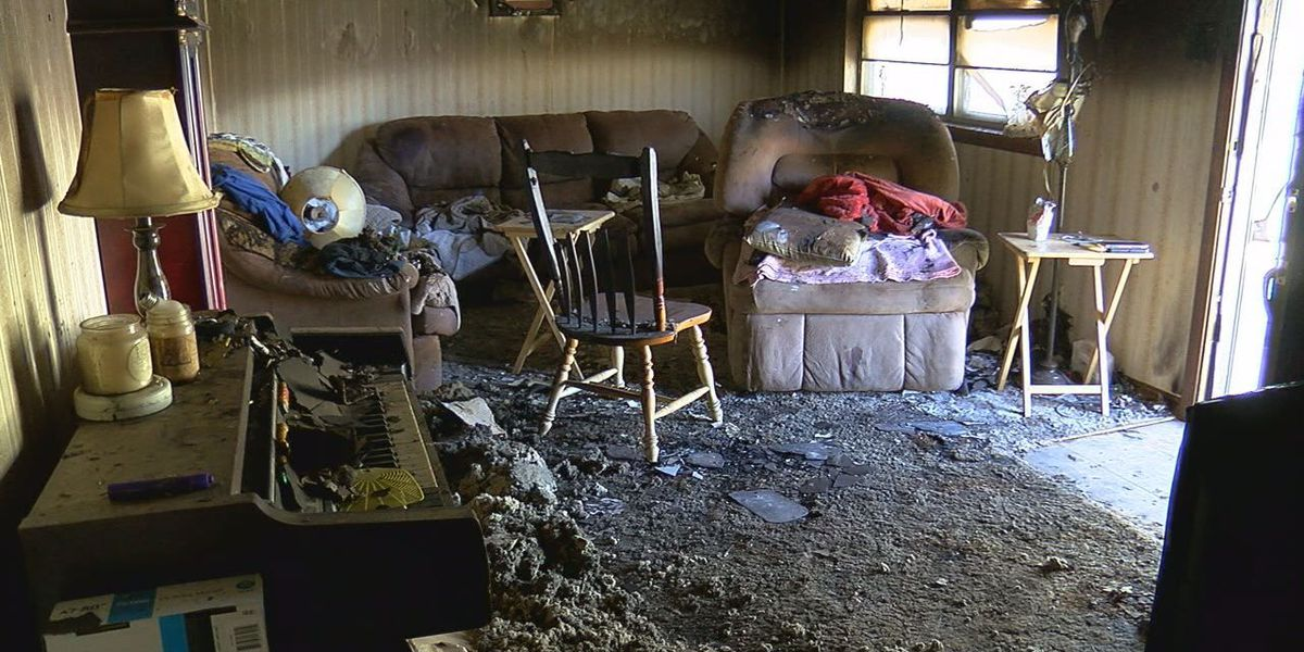 Family nearly loses home after fire