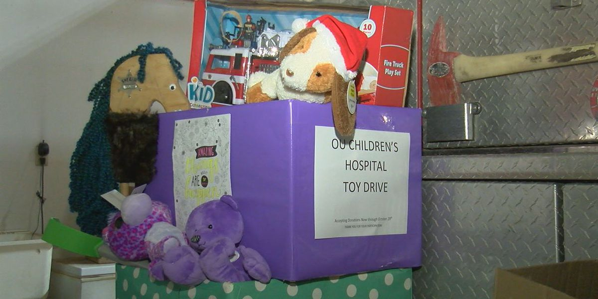 Bray Firefighters exceeded goal for toy drive