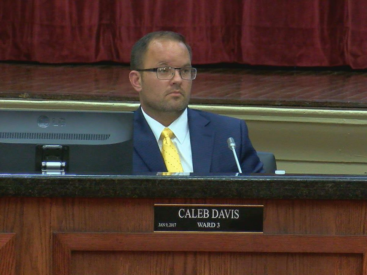 Councilman Caleb Davis responds to embezzlement charge