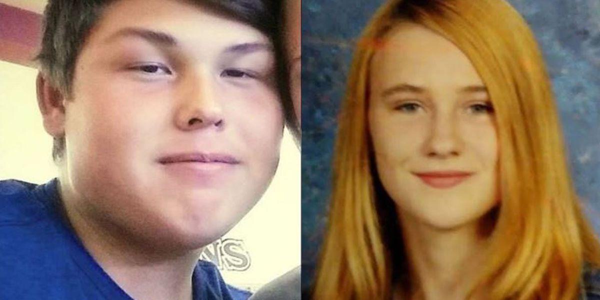 Missing Blanchard teens found