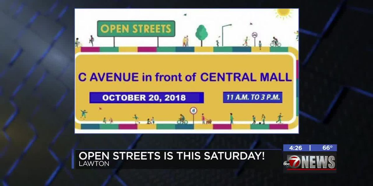 Lawton Open Streets happening Saturday after being rescheduled