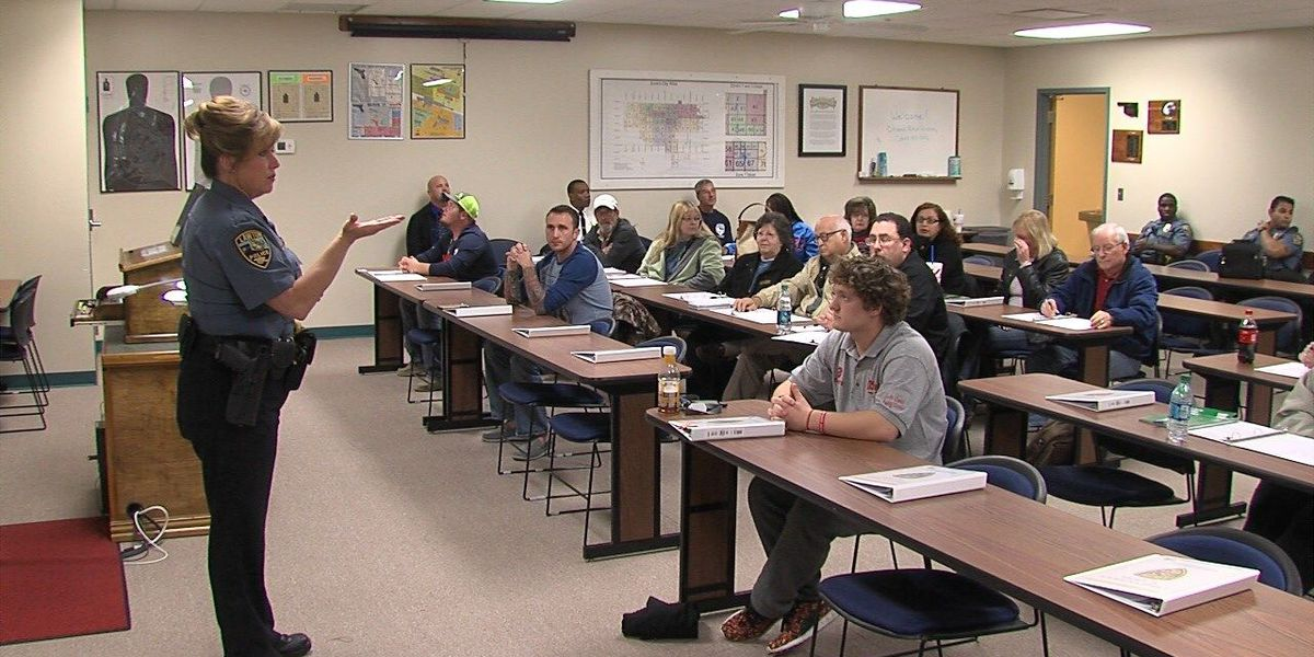 23rd annual Citizens Police Academy gets underway