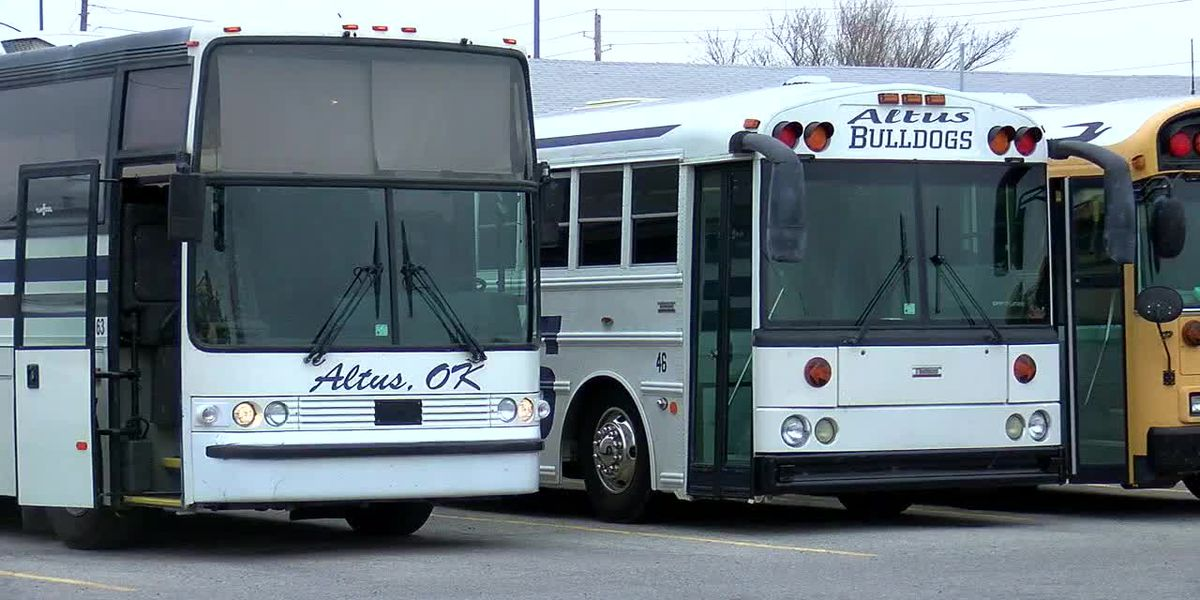 Altus School Bond buses