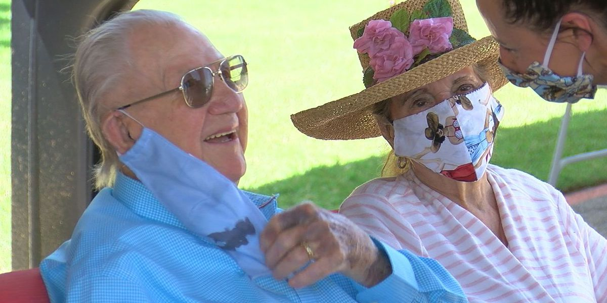 Altus celebrates oldest living OHP trooper's 99th birthday with parade