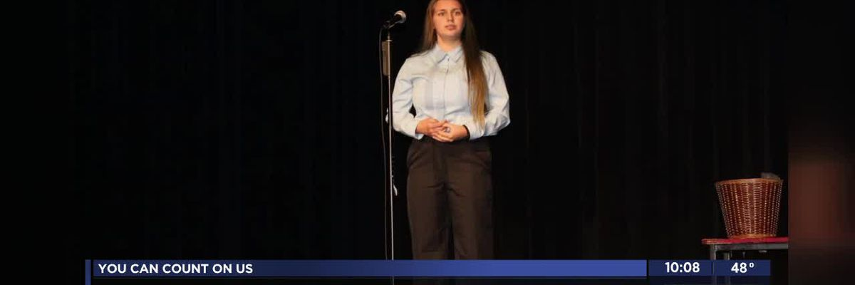 Lawton High School freshman takes second place in Oklahoma Poetry Out Loud State Championship