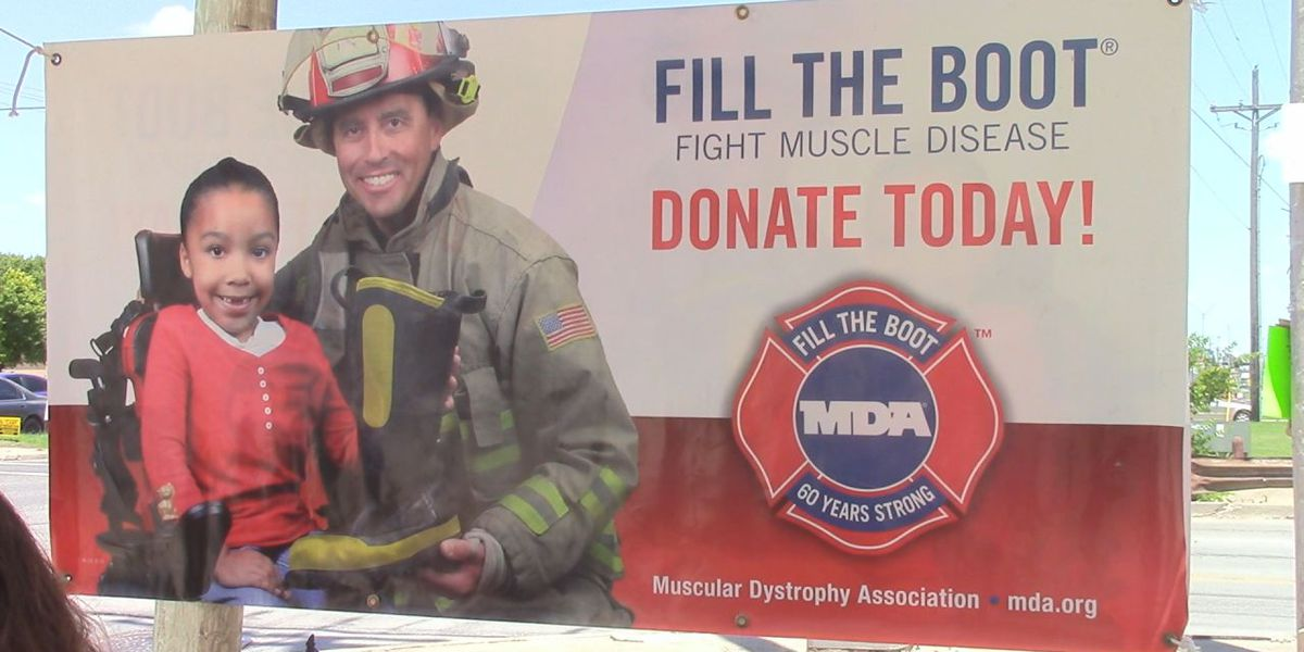 Duncan firefighters fill the boot to raise money for local MDA families