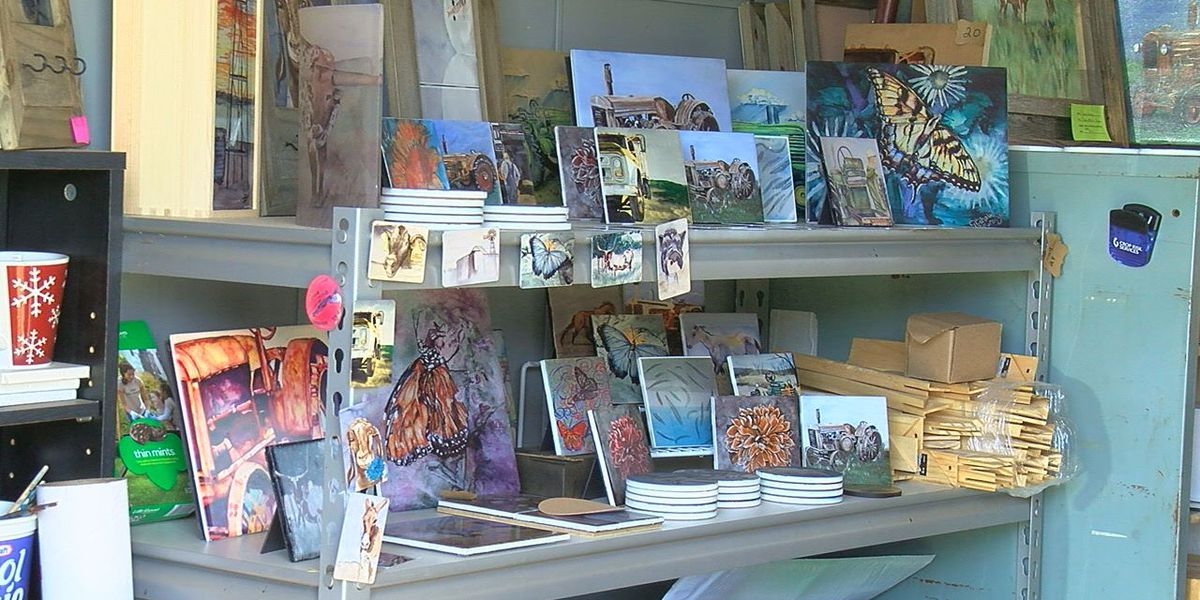 Local artists given booth at Arts for All Festival