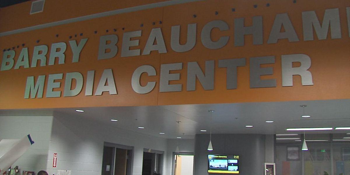 Freedom Elementary Media Center dedication
