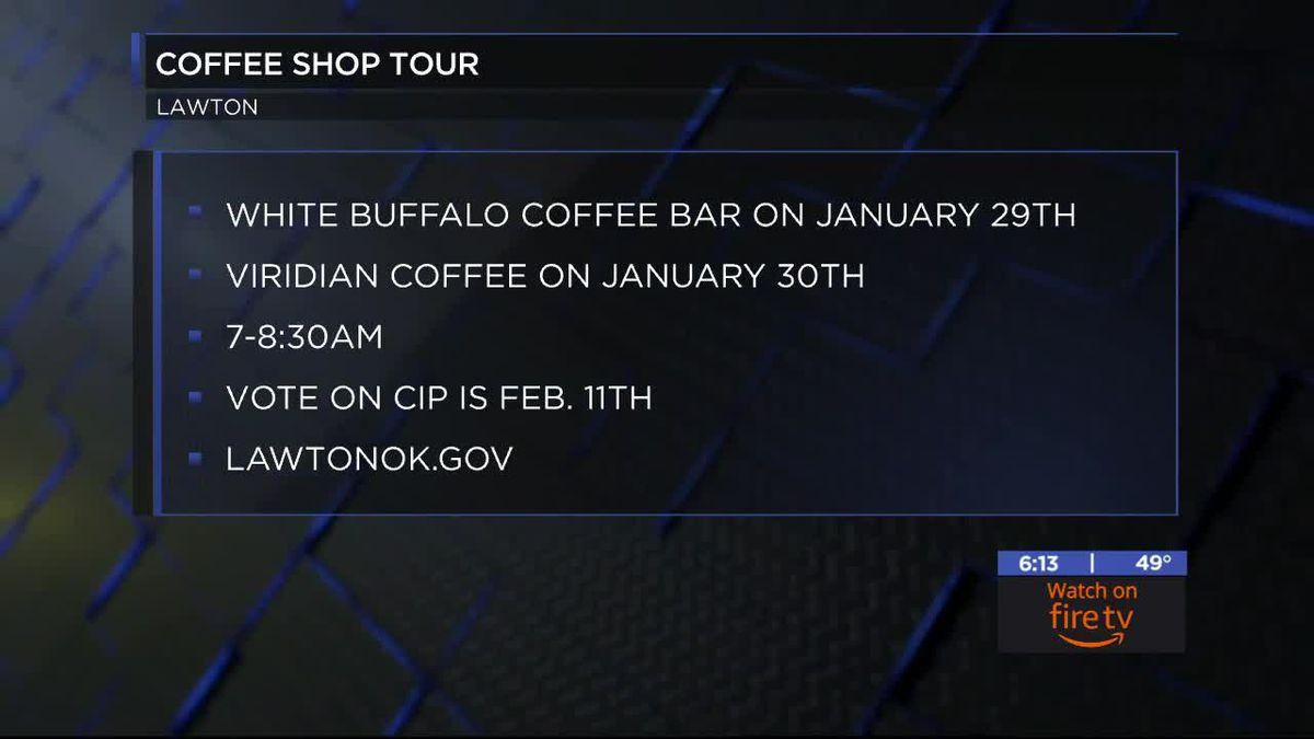 Mayor Booker begins Coffee Shop Tour