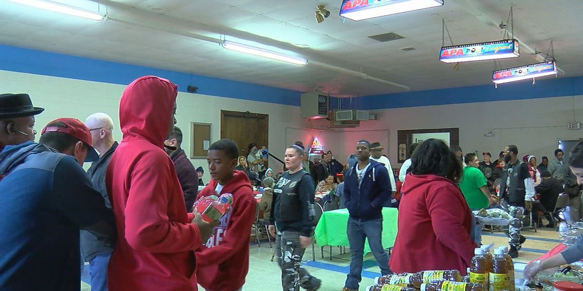 Hungry Hearts Feeding Ministry Christmas dinner