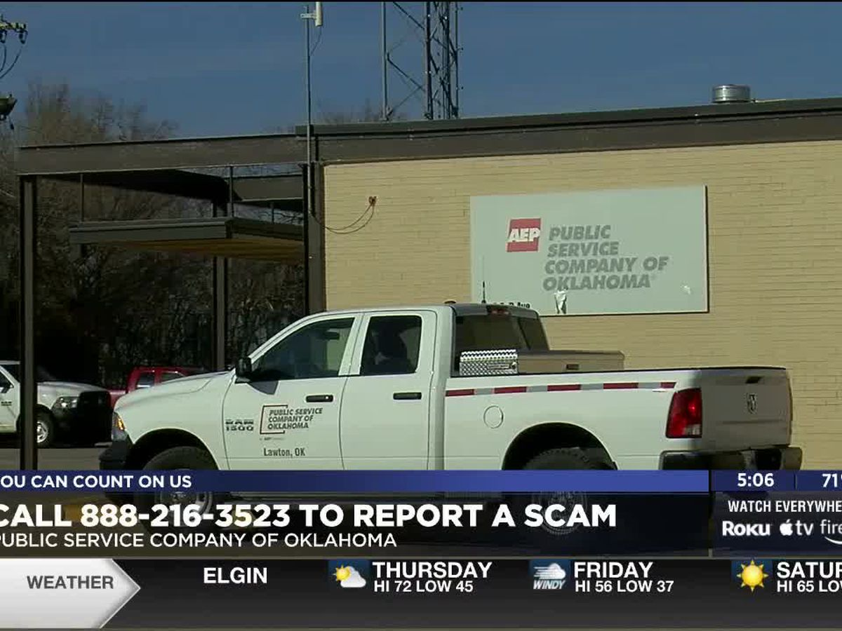 PSO warns customers against imposter utility scams