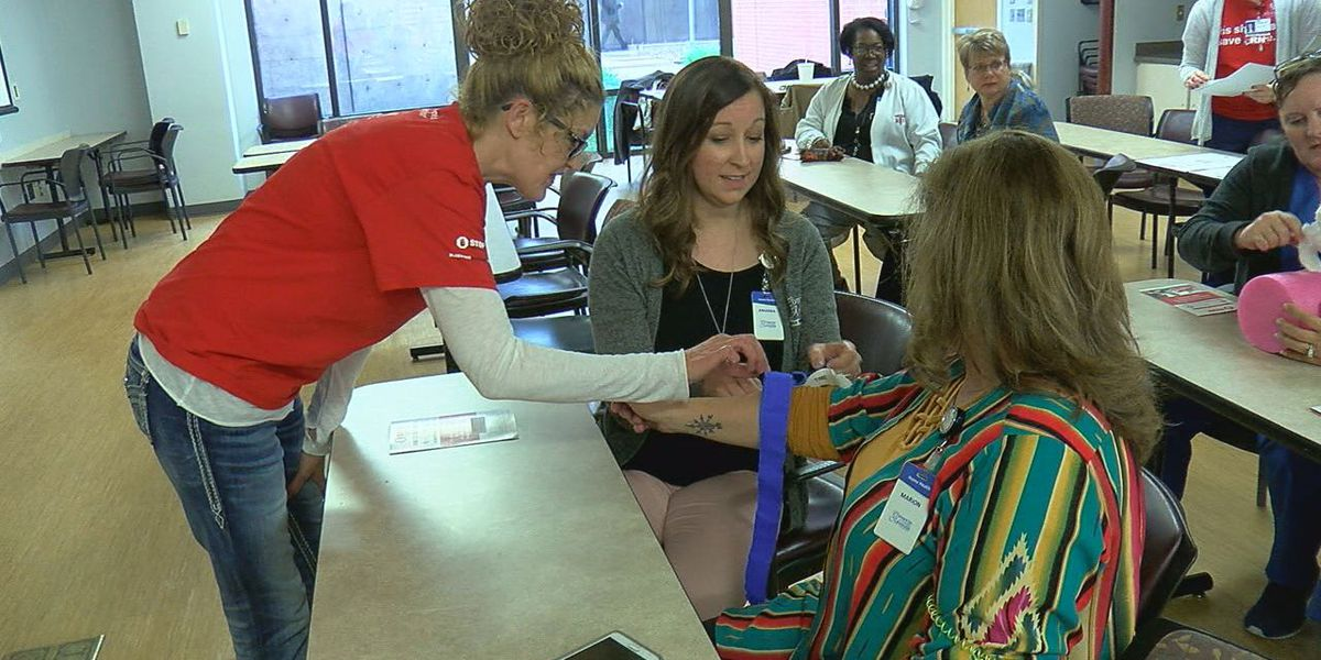 "CCMH hosts ""Stop the Bleed"" training on how to save a life"