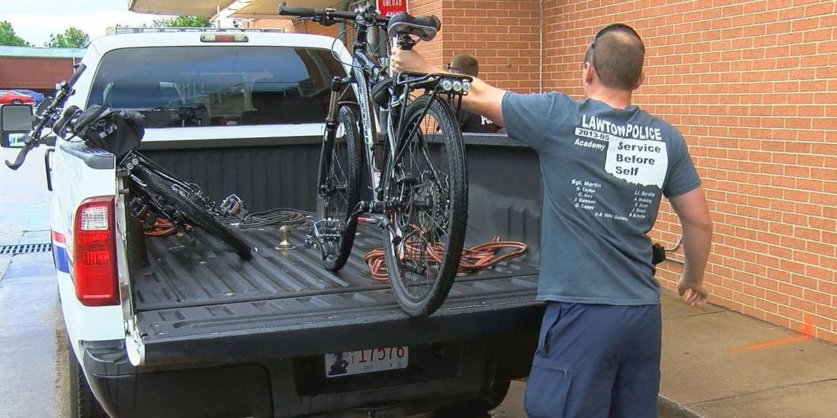 Lawton police officers bike to Oklahoma City to honor fallen comrades
