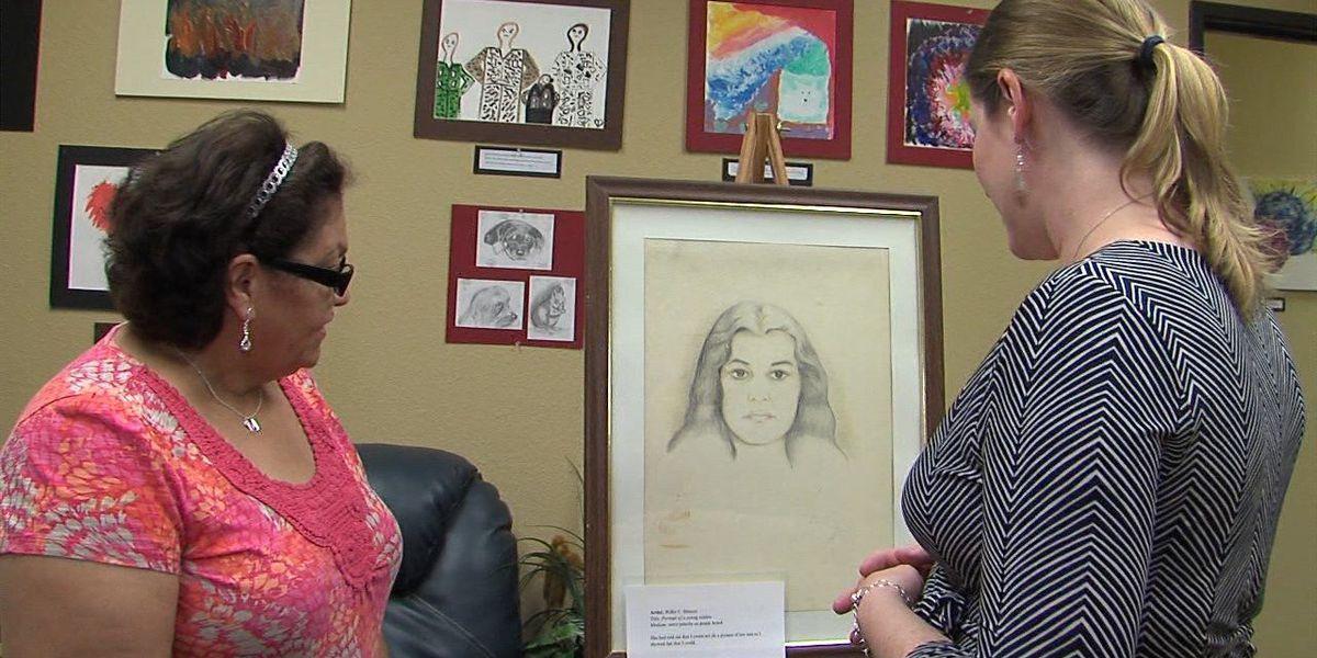 Lawton veterans display art