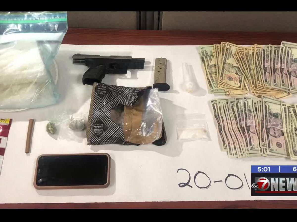 More than two pounds of meth found in Stephens County drug bust