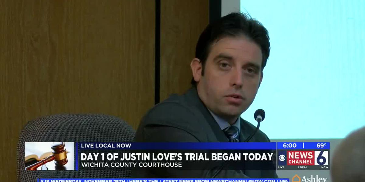 Testimony begins in Justin Love murder trial
