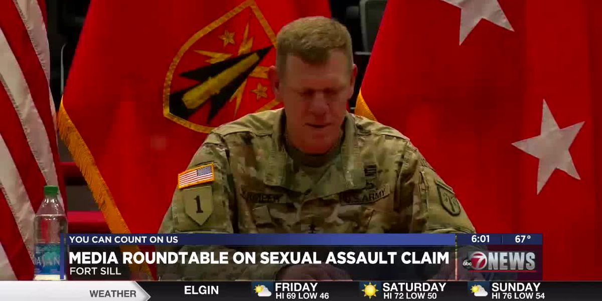 Sexual assault allegations reported on Fort Sill