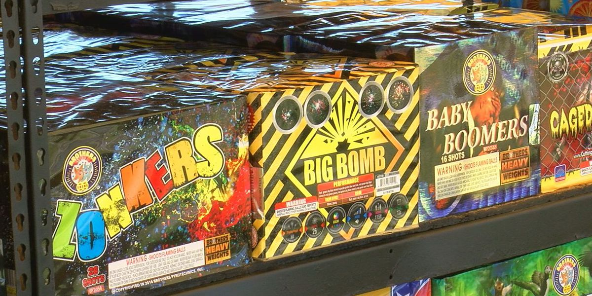 Fireworks stands opening across southwest Oklahoma