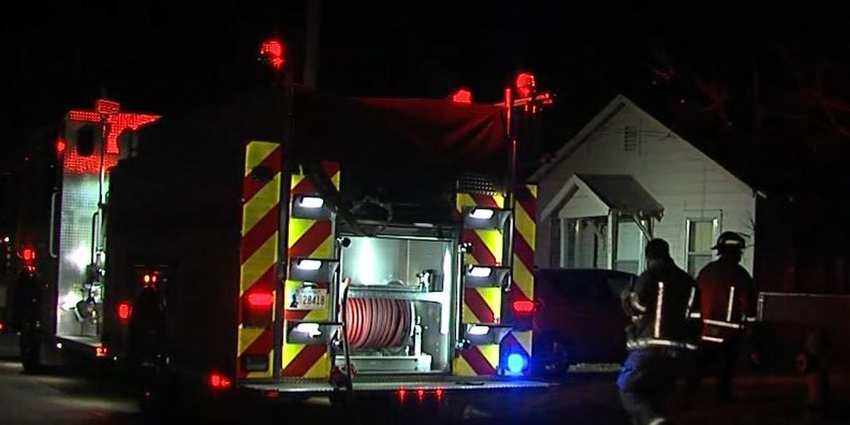 Fire sparks at Lawton home