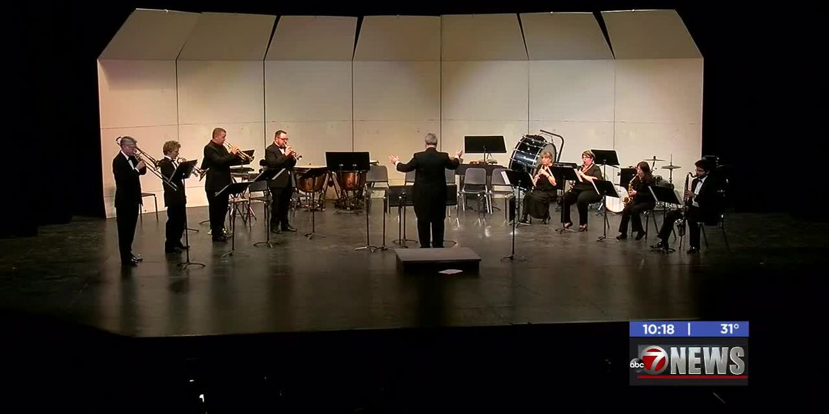 Cameron University's Concert Band shares stage for special performance