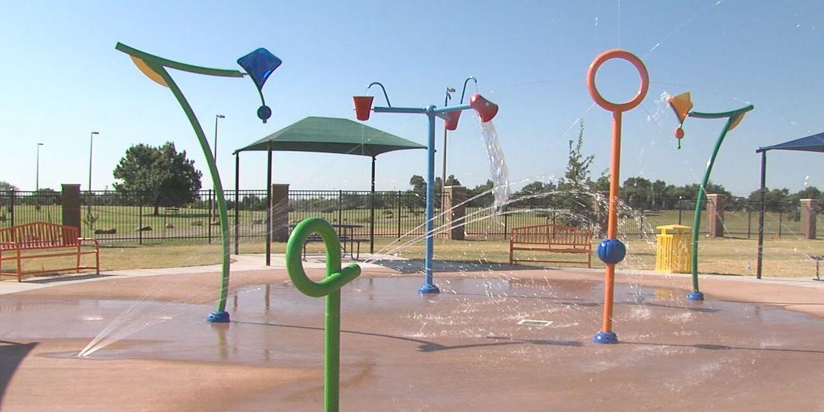 Elmer Thomas Park Splash Pad's grand opening is July 8th