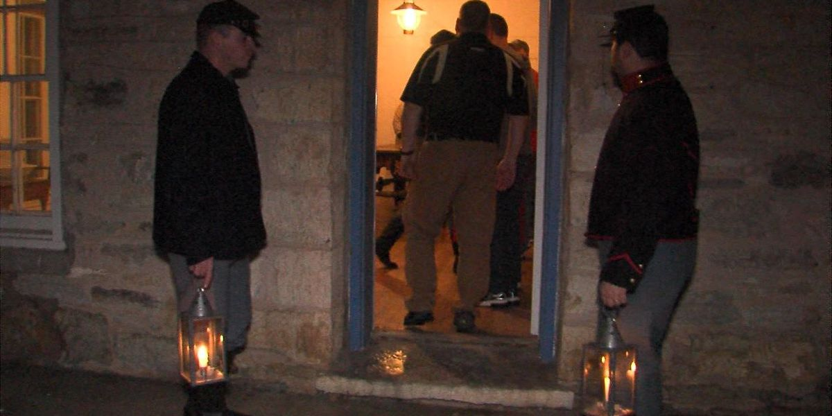 Travel back in time at Fort Sill's annual Candlelight Stroll