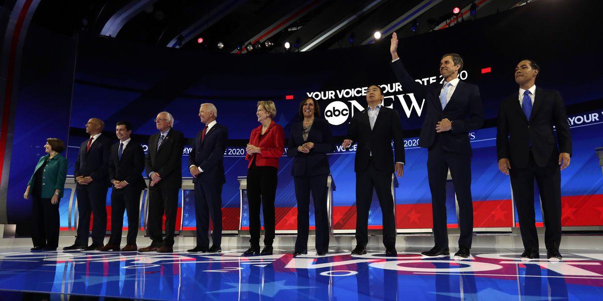 Liberal, moderate divide on display in Democratic debate