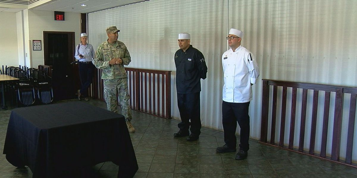 Fort Sill dining facility holds first ever plant-based cook-off